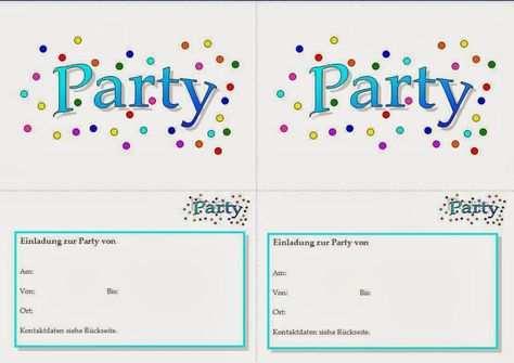 Einladungskarten Einladung Geburtstag Vorlage Einladung Insparadies Einladung Insparadies