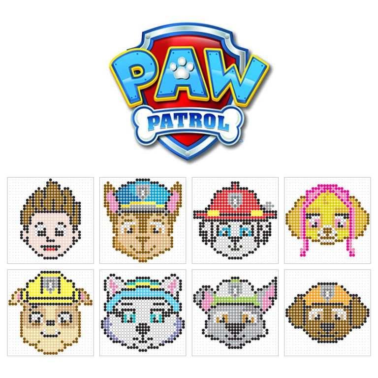 Paw Patrol Oliver Patterns Basteln Bugelperlen Perler Bead