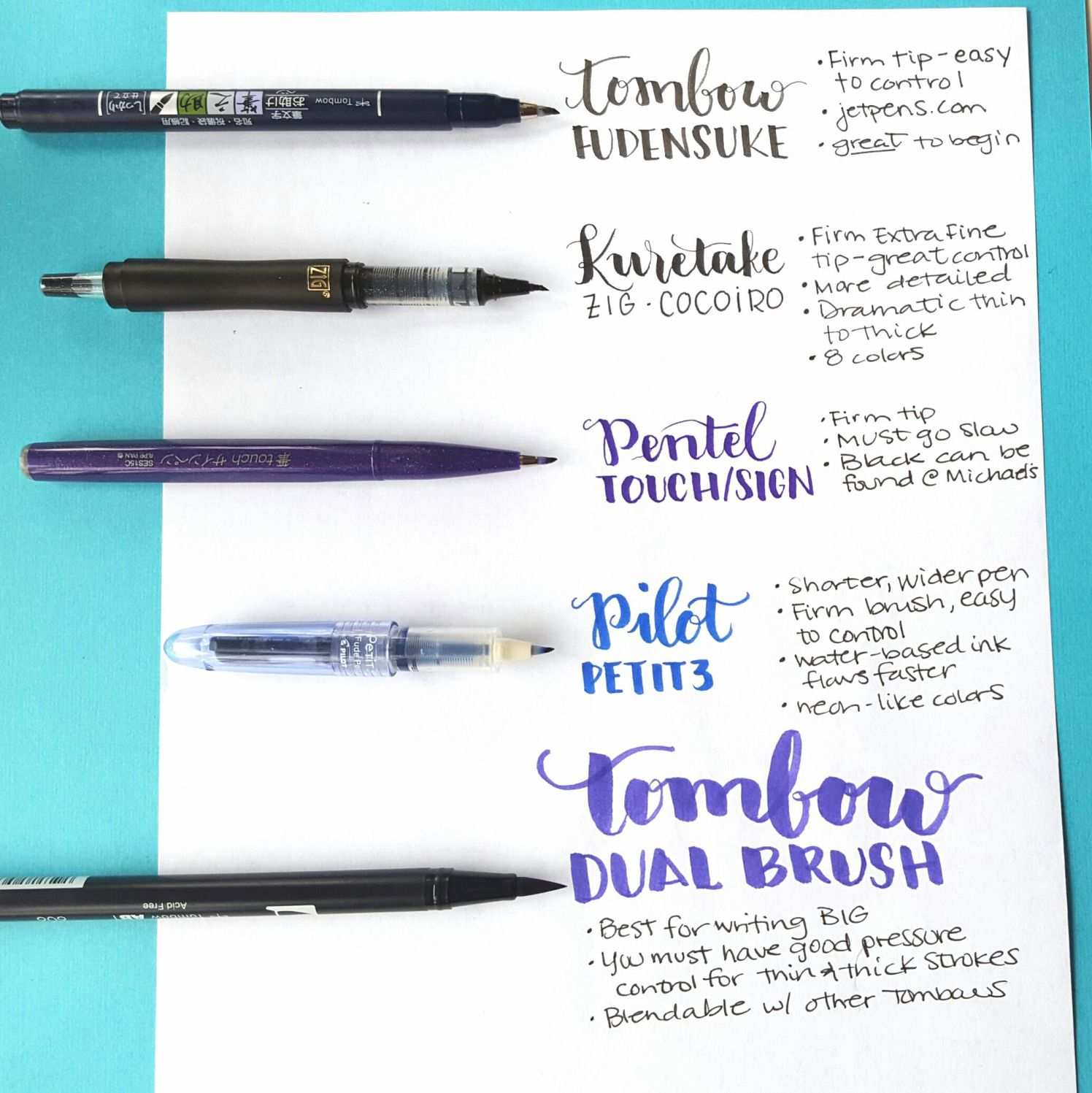 Beginning Hand Lettering Updated Brush Lettering Tutorial