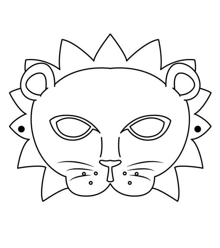 Kinder Fasching Maske 22 Ideen Zum Basteln Ausdrucken Masken