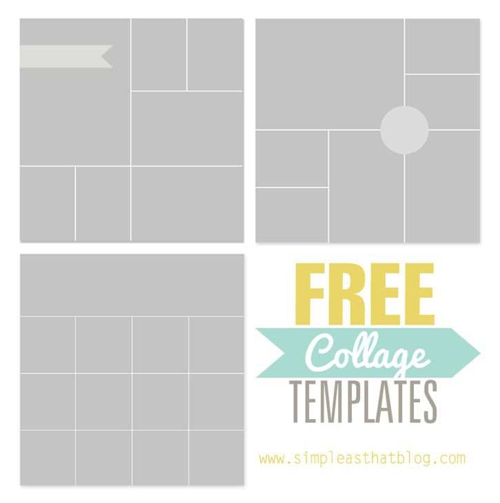 Free Photo Collage Templates From Free Photo Collage Templates