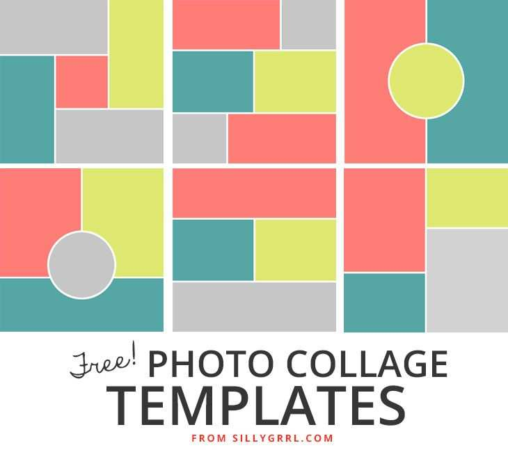 Free Photo Collage Templates Photo Collage Template Collage