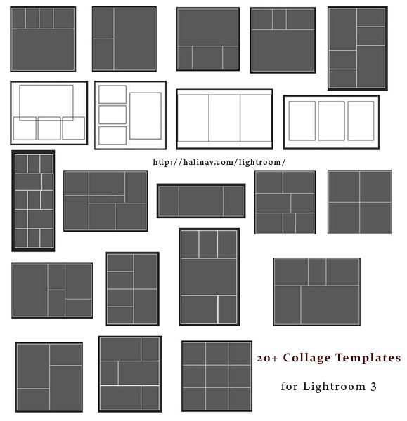 Free Lightroom Collage Templates Lightroom Templates Lightroom