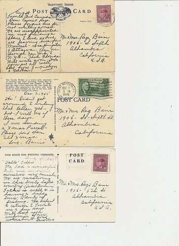 Postcard Backs Postkarten Vintage Etiketten Und Vorlagen