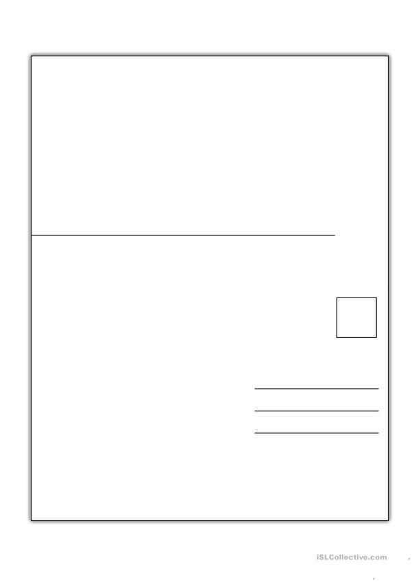 Postkarte Vorlage In 2020 Postkarten Karten Vorlagen