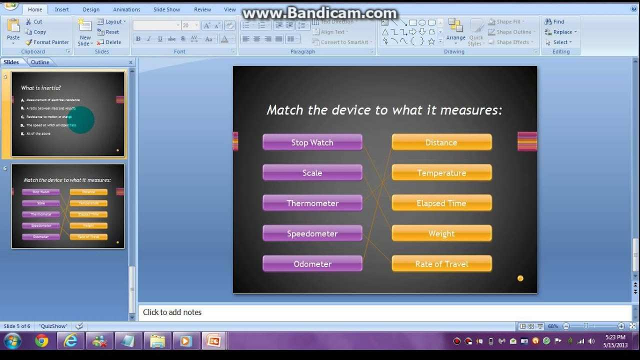 How To Make A Quiz Show On Powerpoint 2007 Youtube