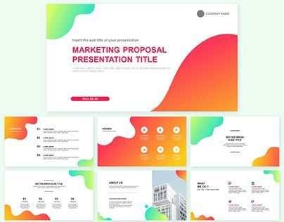 Marketingvorschlag Kostenlose Powerpoint Ppt Entwurfsvorlage Und