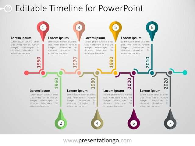 Powerpoint Timeline Template Presentationgo Com Powerpoint