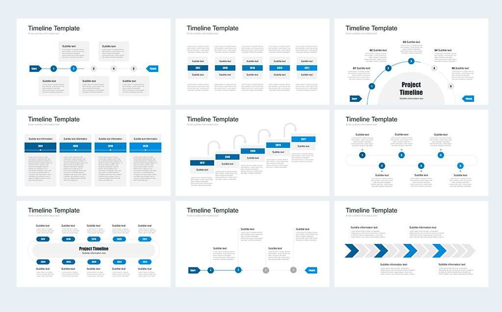 Timeline Pack For Powerpoint Powerpoint Template 67735 Keynote