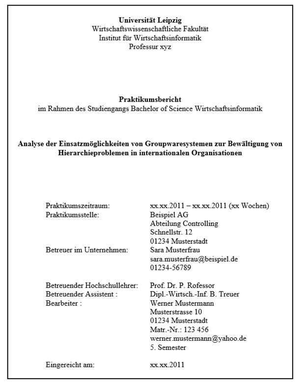 Wirtschaftswissenschaftliche Fakultat Der Universitat Leipzig