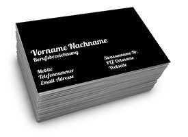 Visitenkarten Online Privat Bilder Kostenlos Drucken