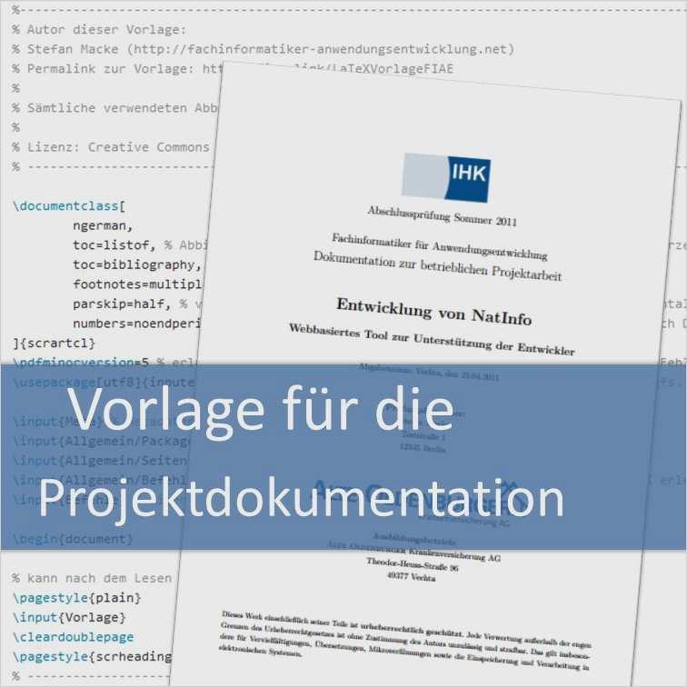 Neu Projektdokumentation Vorlage Word Solche Konnen Einstellen In