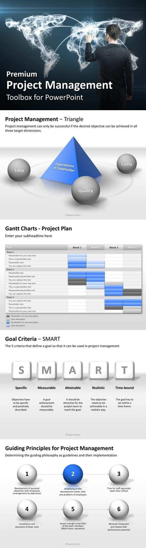 Projektmanagement Powerpoint Vorlagen Www Presentationload De
