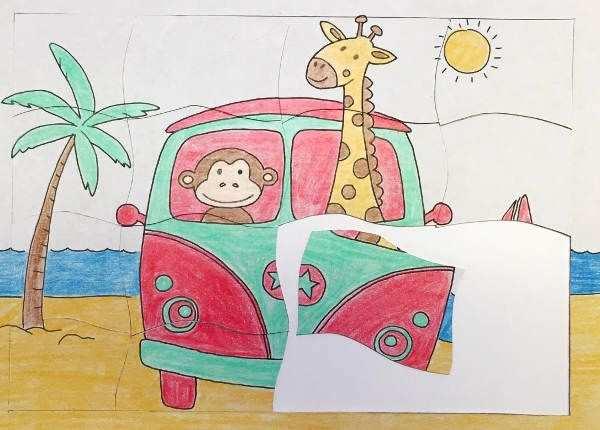 Puzzle Zum Ausdrucken Basteln Mit Kindern Ausdrucken