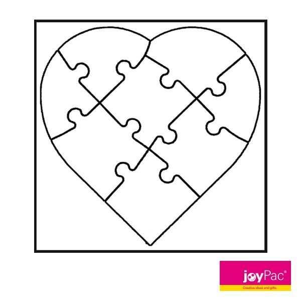 White Line Puzzle Herz Von Joypac Mit Unseren White Line