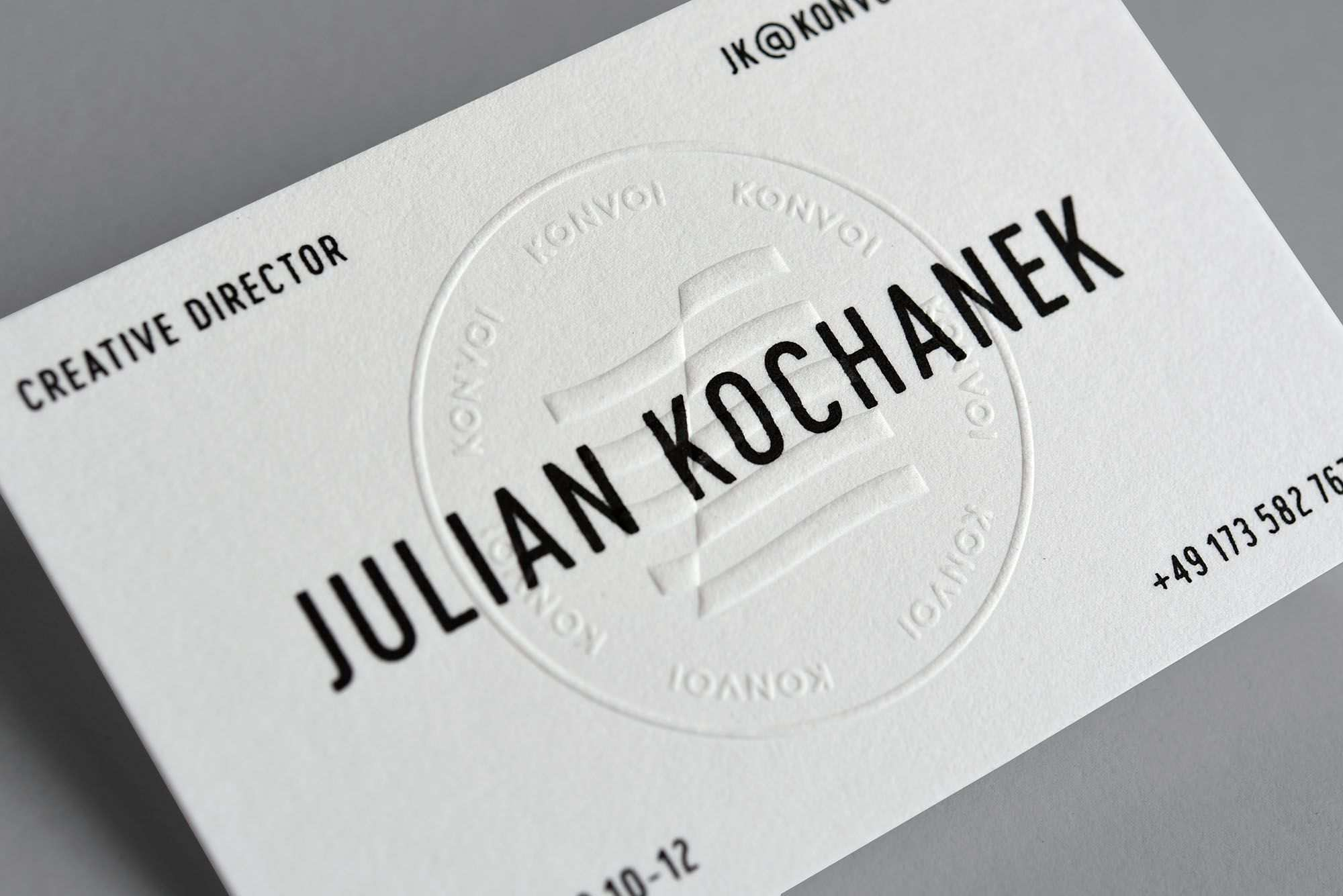 Drucktechnik Letterpress Hochpragung Siebdruck Papier Gmund