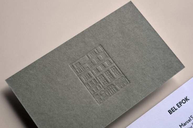 Drucktechnik Letterpress Papier Visitenkarte Gmund Colors 21