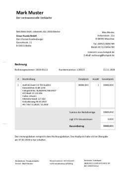 Rechnung Fur Autoverkauf Schreiben Kostenlose Vorlage