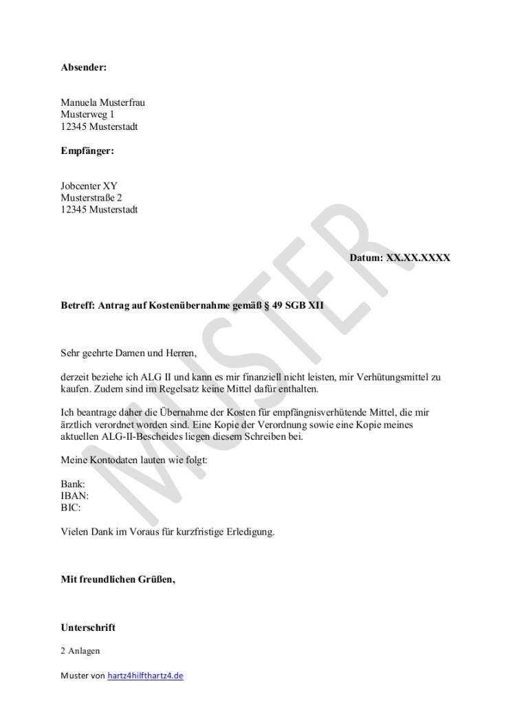 Kostlich Antrag Erstausstattung Jobcenter Vorlage Vorlagen
