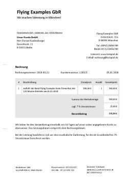 Rechnungsvorlage Fur Musiker Bands Und Djs