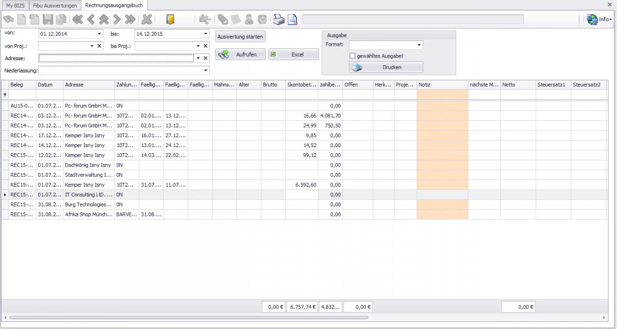 13 Rechnungseingangsbuch Excel Exeter Ca Com