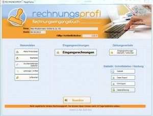 Rechnungsprofi Rechnungseingangsbuch Die Software Die Mehr Kann
