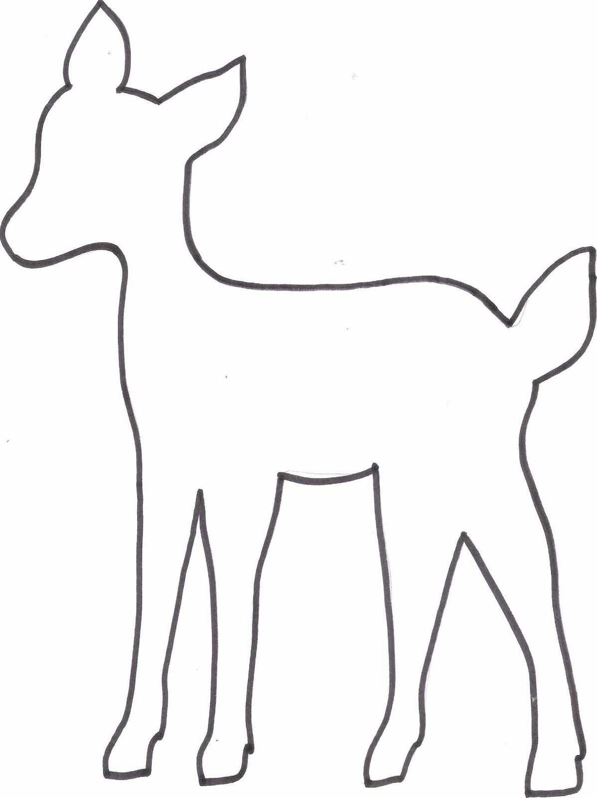 Diy Reh Kissen Freebie Vorlage Tiervorlagen Kissen Bedrucken