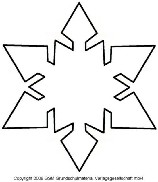 Christmas Templates Snowflake Template Holiday Crafts Diy