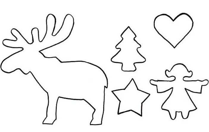 Schablonen Skandinavische Weihnachten 583 Malvorlage Vorlage