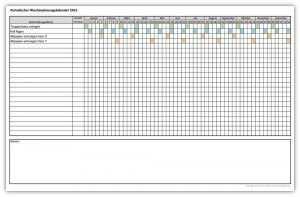 Wochenjahresplaner Planer Monatsplaner Vorlage Planer Vorlagen