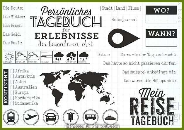 Spruche Slogans Stempelset Reisetagebuch Ein Designerstuck