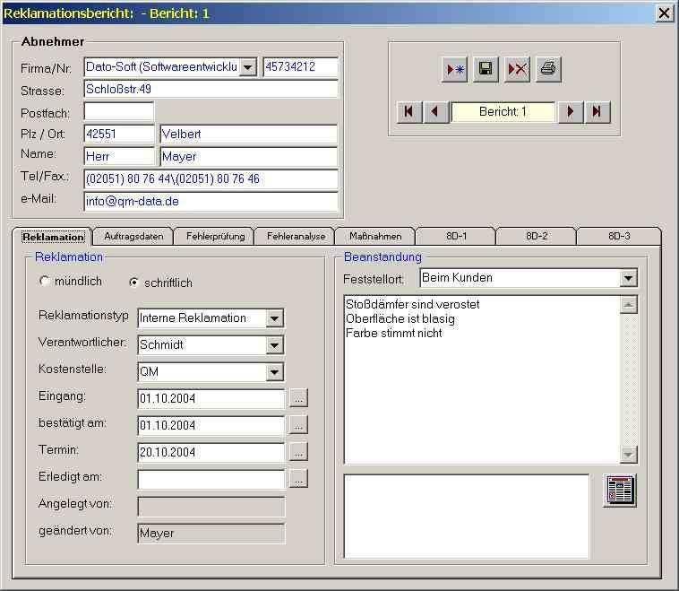 Reklamationsmanagement Download Freeware De