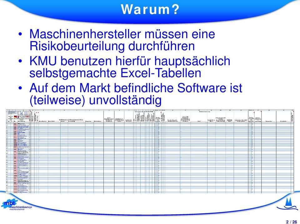 Mbt Rat Risk Assessment Tool Maschinenrichtlinie 2006 42 Eg