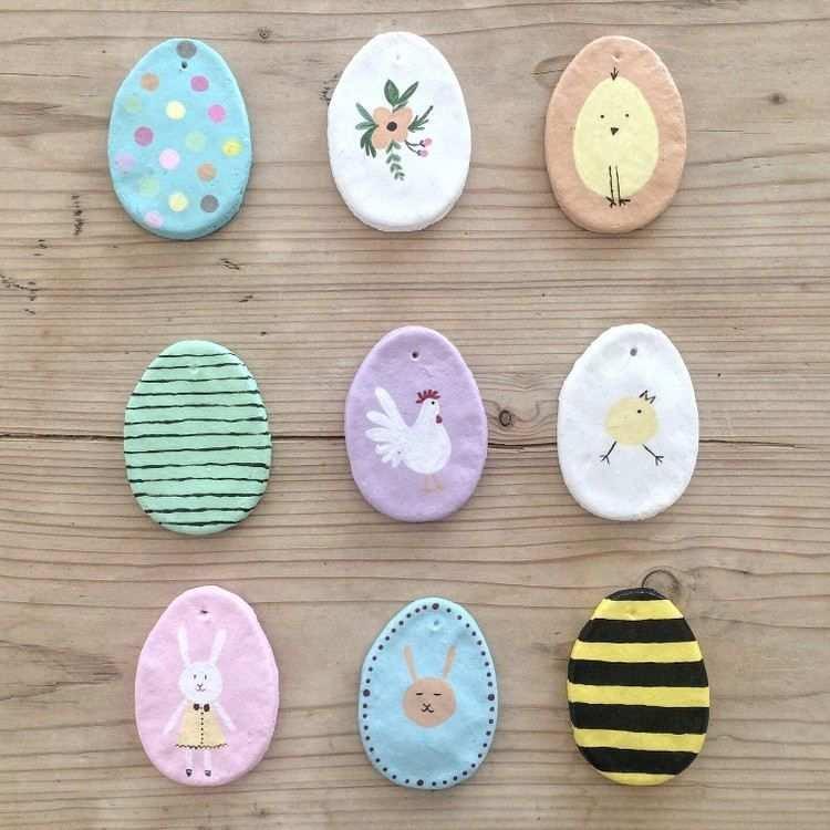 Basteln Mit Salzteig Zu Ostern Kreative Osterdeko Mit Kindern