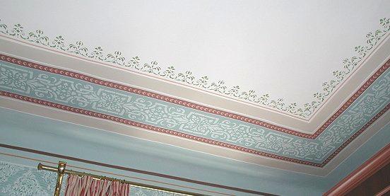 Schablonenmalerei Eine Restaurierung Lohnt