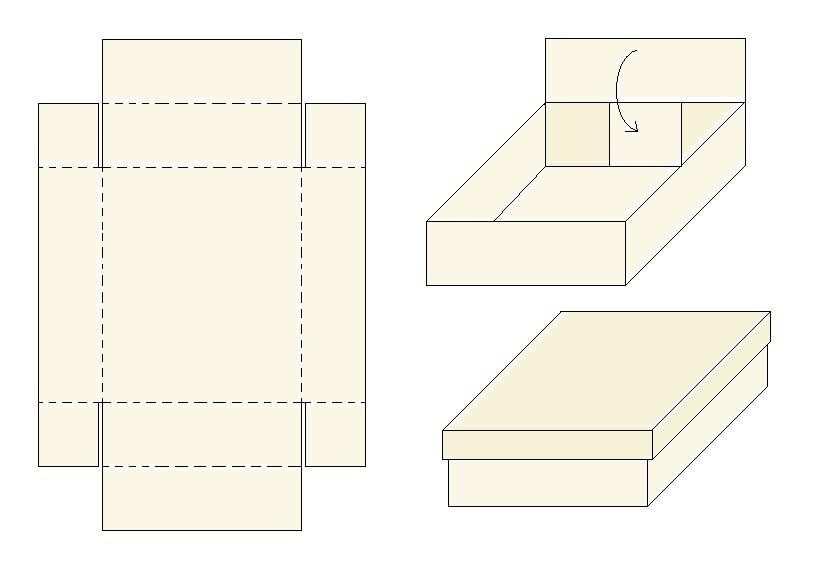 Kreatives Und Basteln Schachteln Basteln Schachtel Selber