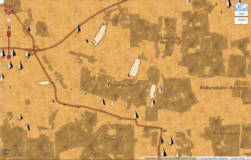 Google Maps Hat Jetzt Auch Schatzkarten Darstellung