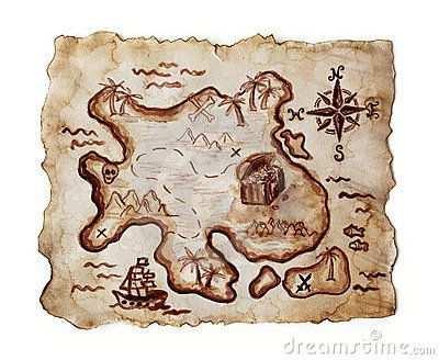Alte Schatzkarte Treasure Maps Pirate Maps Pirate Map Tattoo