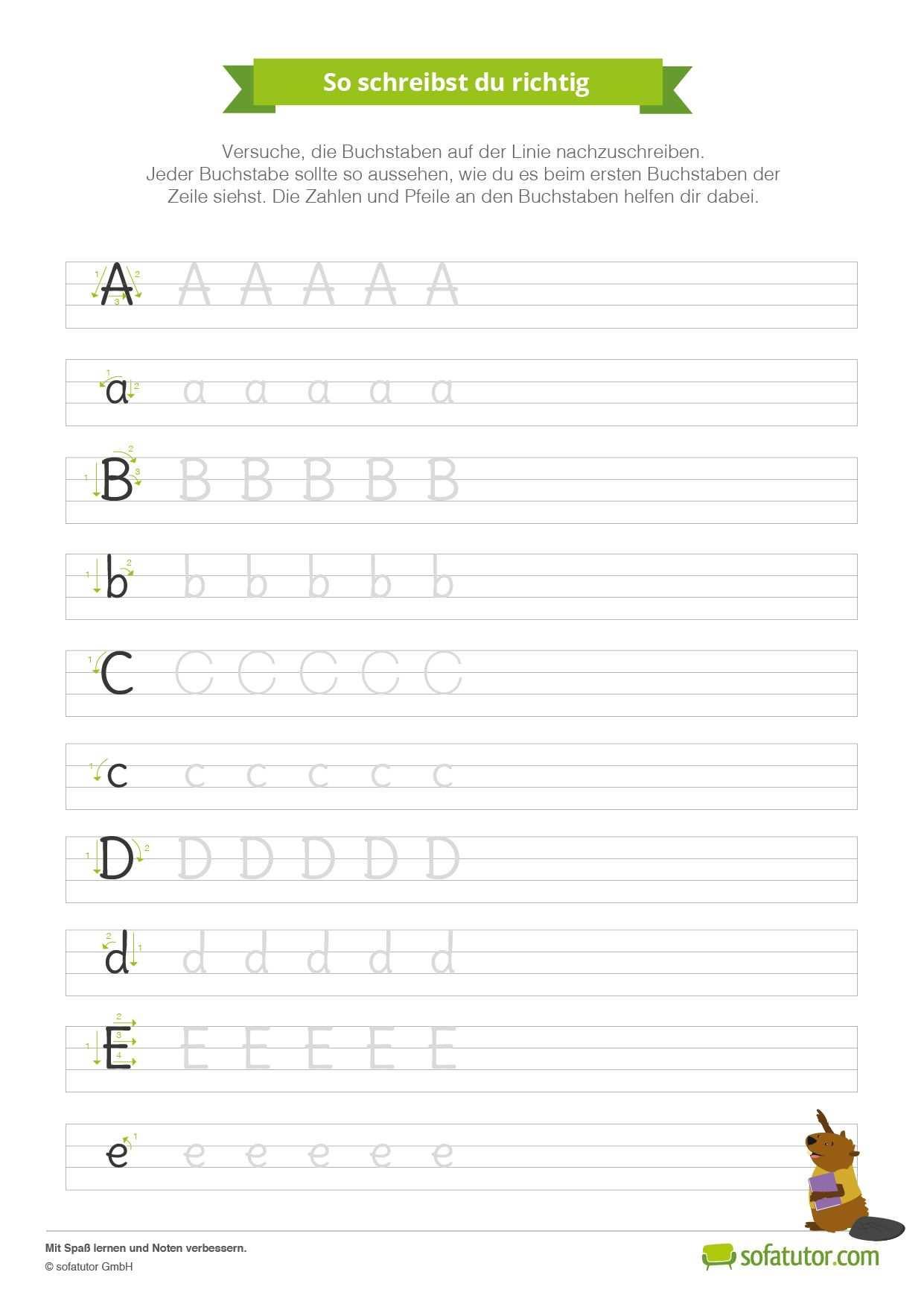 Wenn Ihr Kind Schreiben Lernt Ist Das Ein Toller Schritt In Der