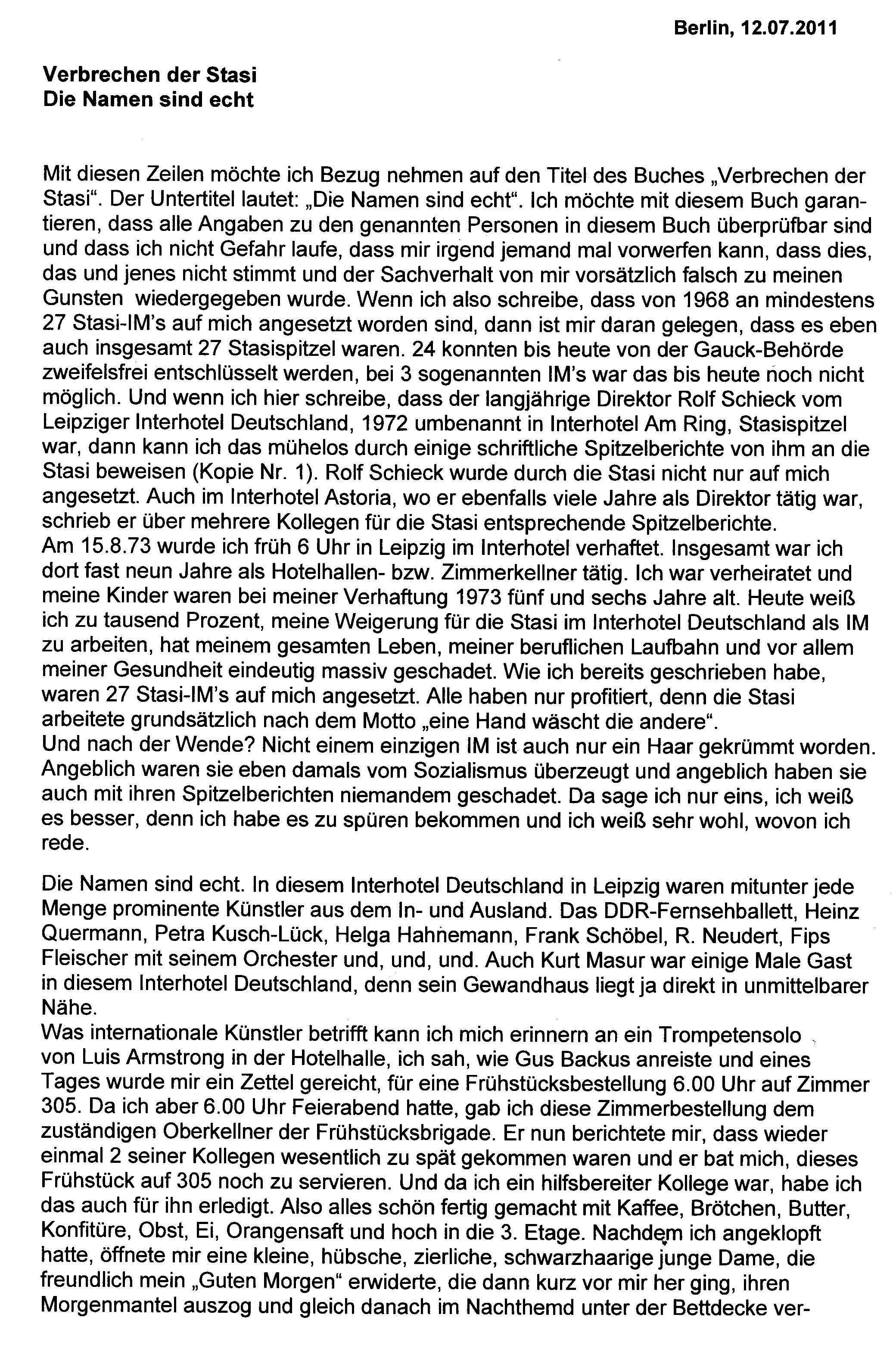 Einzigartig Ausformulierter Lebenslauf Briefprobe Briefformat