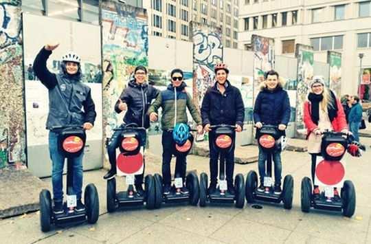 Segway Fahren In Berlin Segway Tour Gutscheine Und Berlin