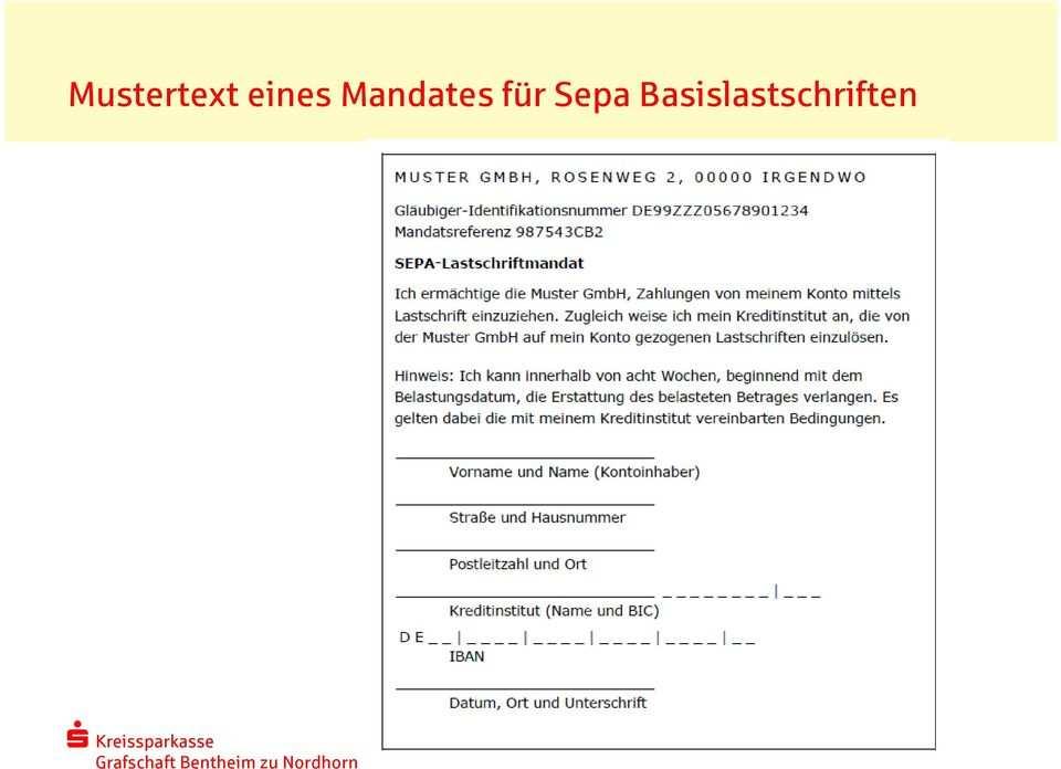 Die Sepa Lastschrift Basis Lastschrift Pdf Free Download