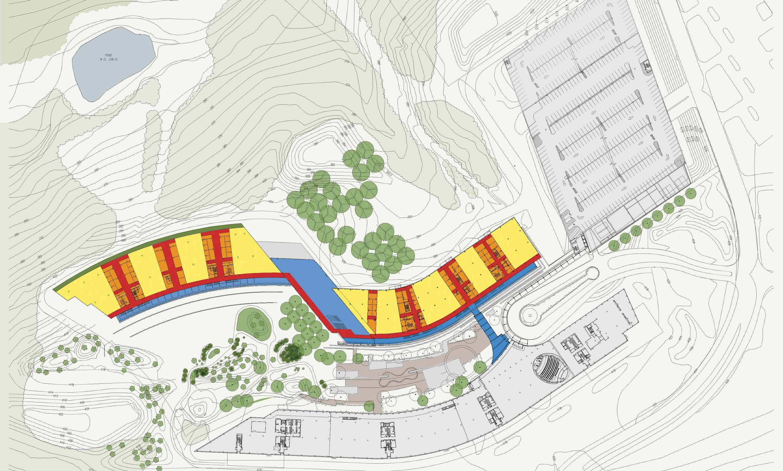 Program Site Plan Environmental Graphic Design American