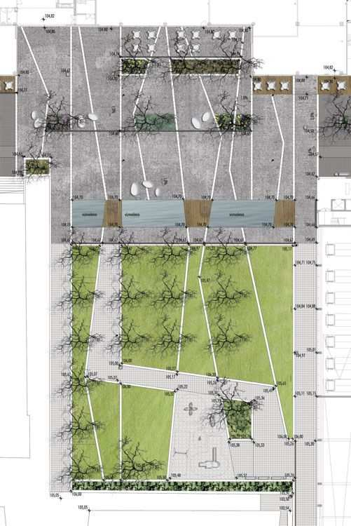 Site Plan Detail Landscape Plans Landscape Architecture Design