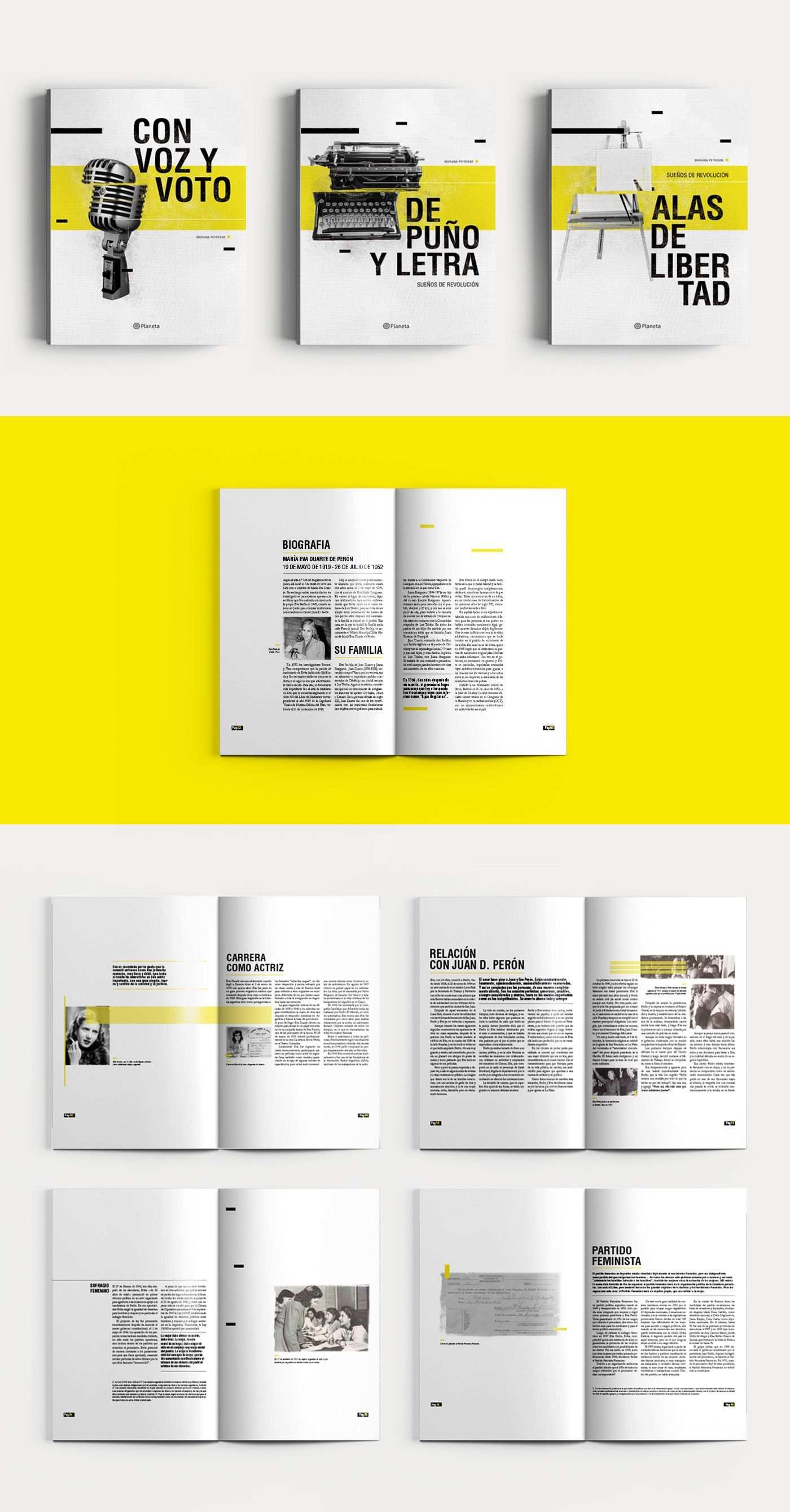 Suenos De Revolucion On Behance Book Design Layout Booklet
