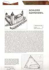 Bastelbogen Schloss Rapperswil Kaufen Auf Ricardo In 2020 Paper