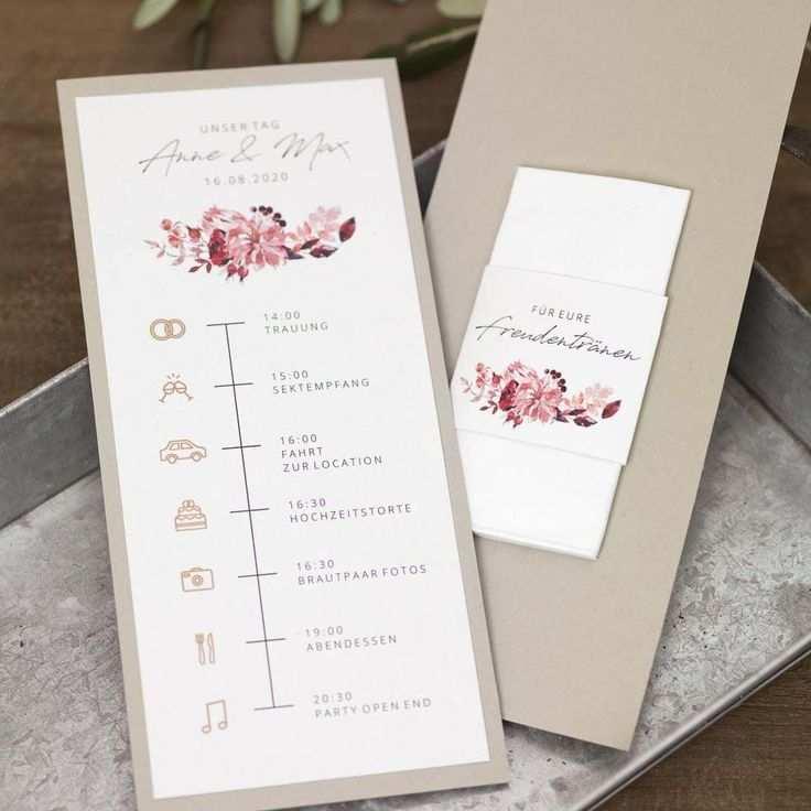 Vorlage Timeline Hochzeit Fur Word Stempel Hochzeit Karte