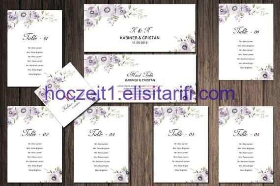 Hochzeits Sitzplatz Diagramm Schablone Sitzplan Druckbare