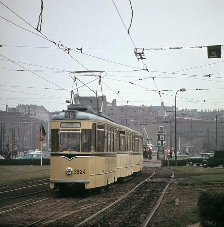 Ddr Strassenbahn Alexanderplatz 1967 V Like Vintage