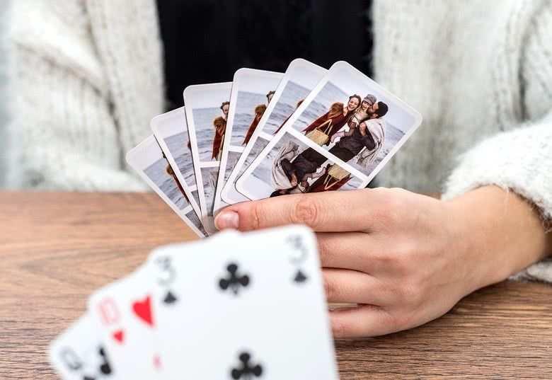 Personalisierte Spielkarten Personalisierte Spielkarten
